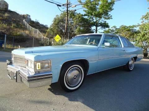 1977 Cadillac DeVille for sale at 1 Owner Car Guy in Stevensville MT