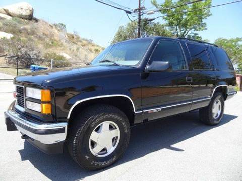 1999 GMC Yukon for sale at 1 Owner Car Guy in Stevensville MT