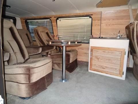 1986 Chevrolet G20 RED-E-KAMP Conversion Van In El Cajon CA