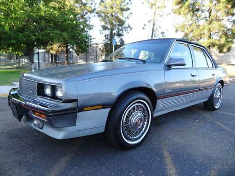 1986 Cadillac Cimarron for sale at 1 Owner Car Guy in Stevensville MT