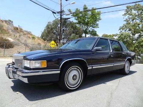 1991 Cadillac DeVille for sale at 1 Owner Car Guy in Stevensville MT