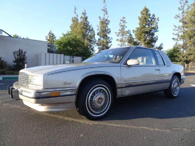 1990 Cadillac Eldorado for sale at 1 Owner Car Guy in Stevensville MT