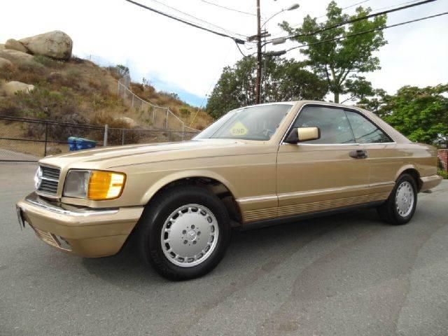 1984 mercedes benz 500 class 500sec w126 coupe in el cajon ca 1 owner car guy. Black Bedroom Furniture Sets. Home Design Ideas