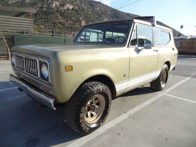 1975 International Scout II for sale at 1 Owner Car Guy in Stevensville MT