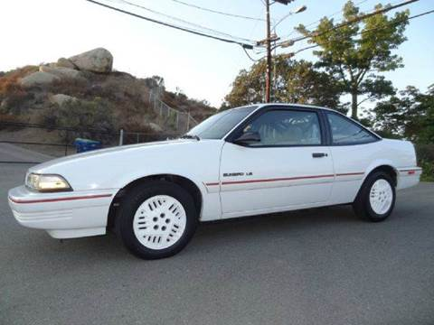 1994 Pontiac Sunbird for sale at 1 Owner Car Guy in Stevensville MT