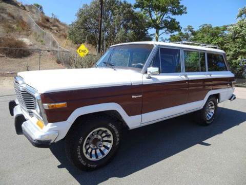 1980 Jeep Wagoneer for sale at 1 Owner Car Guy in Stevensville MT