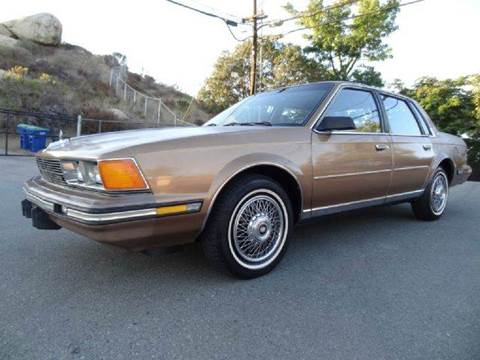 1986 Buick Century for sale at 1 Owner Car Guy in Stevensville MT
