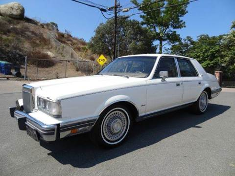 1982 Lincoln Continental for sale at 1 Owner Car Guy in Stevensville MT