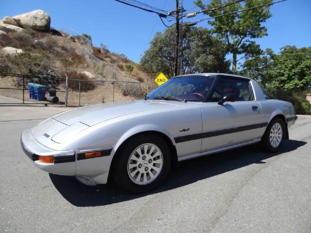 1984 Mazda RX-7 for sale at 1 Owner Car Guy in Stevensville MT