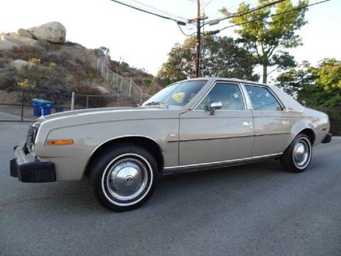 1979 AMC Concord for sale at 1 Owner Car Guy in Stevensville MT