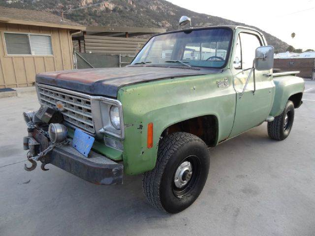 1975 Chevrolet C/K 10 Series for sale at 1 Owner Car Guy in Stevensville MT