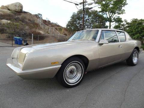 1987 Studebaker Avanti for sale at 1 Owner Car Guy in Stevensville MT