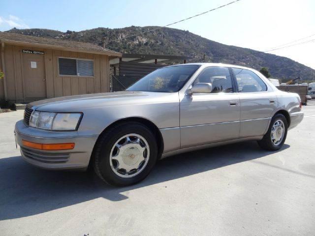 1993 Lexus LS 400 LS400 Sedan   El Cajon CA