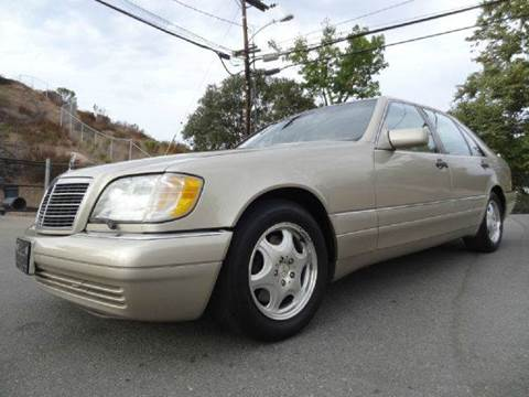 1999 Mercedes-Benz S-Class for sale at 1 Owner Car Guy in Stevensville MT