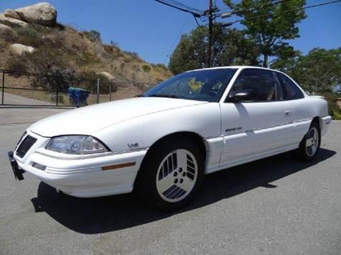 1993 Pontiac Grand Am for sale at 1 Owner Car Guy in Stevensville MT