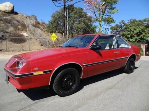 1984 Buick Skyhawk for sale at 1 Owner Car Guy in Stevensville MT