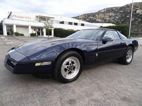 1988 Chevrolet Corvette for sale at 1 Owner Car Guy in Stevensville MT