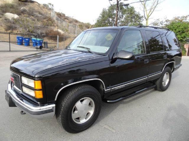1999 GMC Yukon for sale at 1 Owner Car Guy in Stevensville MT