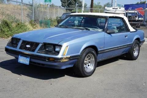 1983 Ford Mustang for sale at 1 Owner Car Guy in Stevensville MT
