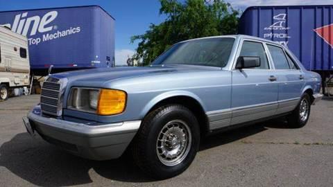 1985 Mercedes-Benz 380-Class for sale at 1 Owner Car Guy in Stevensville MT