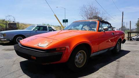 1979 Triumph TR7 for sale at 1 Owner Car Guy in Stevensville MT