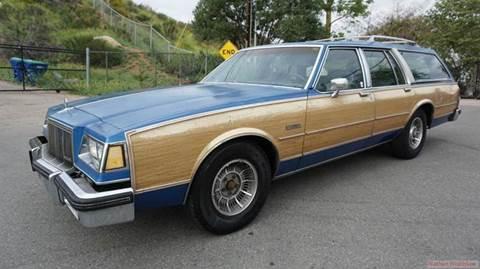 1988 Buick Electra for sale at 1 Owner Car Guy in Stevensville MT