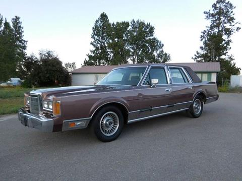 1989 Lincoln Town Car for sale at 1 Owner Car Guy in Stevensville MT