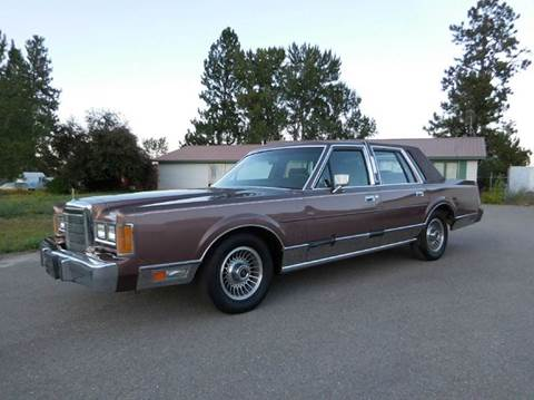 1989 Lincoln Town Car For Sale In El Cajon, CA