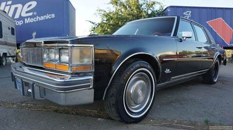 1977 Cadillac Seville for sale at 1 Owner Car Guy in Stevensville MT