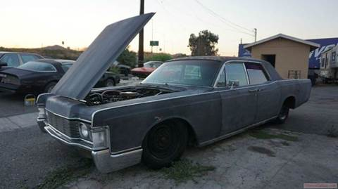 1968 Lincoln Continental for sale at 1 Owner Car Guy in Stevensville MT