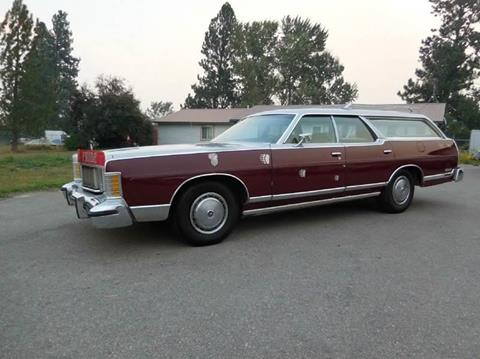 1978 Mercury Grand Marquis for sale at 1 Owner Car Guy in Stevensville MT