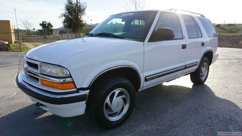 2000 Chevrolet Blazer for sale at 1 Owner Car Guy in Stevensville MT