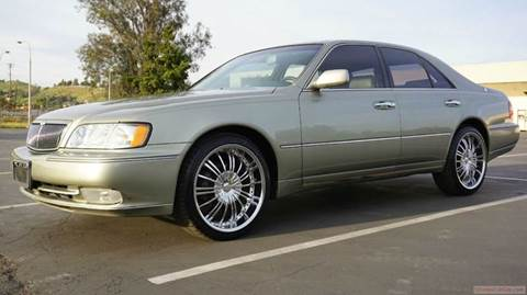 1999 Infiniti Q45 for sale at 1 Owner Car Guy in Stevensville MT