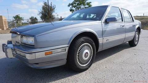 1990 Cadillac Seville for sale at 1 Owner Car Guy in Stevensville MT