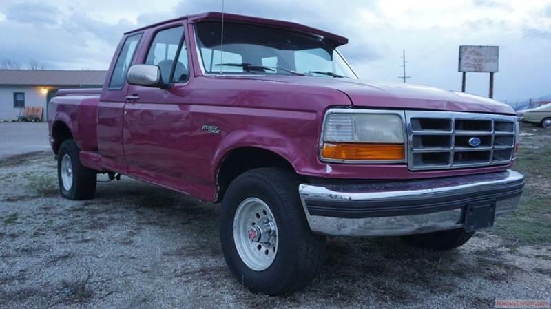 1993 Ford F-150 2dr XLT 4WD Extended Cab Stepside SB - Stevensville MT