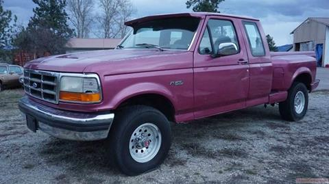 1993 Ford F-150 for sale at 1 Owner Car Guy in Stevensville MT