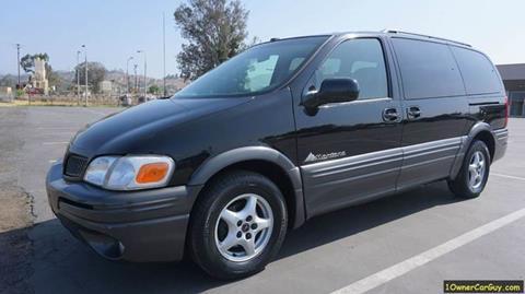 2003 Pontiac Montana for sale at 1 Owner Car Guy in Stevensville MT