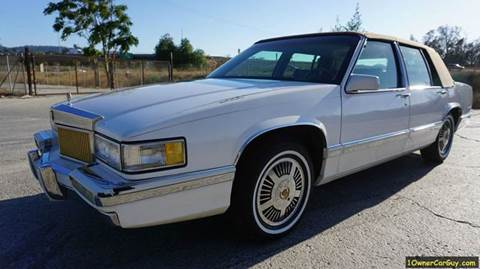 1991 Cadillac DeVille for sale at 1 Owner Car Guy in Stevensville MT