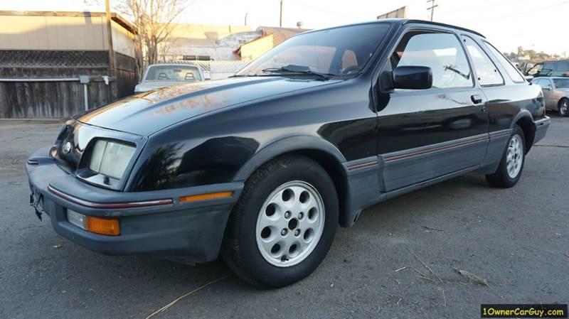 1986 Merkur XR4Ti for sale at 1 Owner Car Guy in Stevensville MT