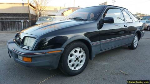 1986 Merkur XR4Ti for sale at 1 Owner Car Guy in Stevensville MT