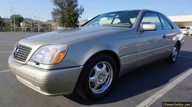 1999 Mercedes-Benz CL-Class for sale at 1 Owner Car Guy in Stevensville MT