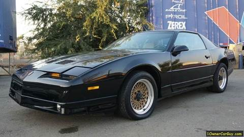1987 Pontiac Firebird Trans Am for sale at 1 Owner Car Guy in Stevensville MT