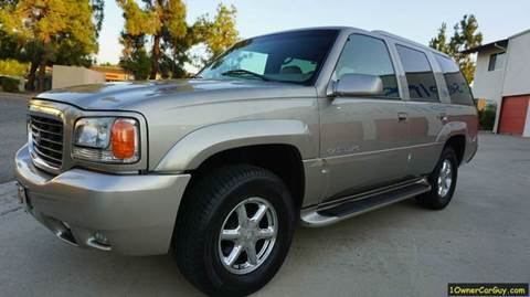 2000 Cadillac Escalade for sale at 1 Owner Car Guy in Stevensville MT
