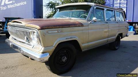 1967 Jeep Wagoneer for sale at 1 Owner Car Guy in Stevensville MT
