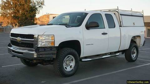 2010 Chevrolet Silverado 2500HD for sale at 1 Owner Car Guy in Stevensville MT