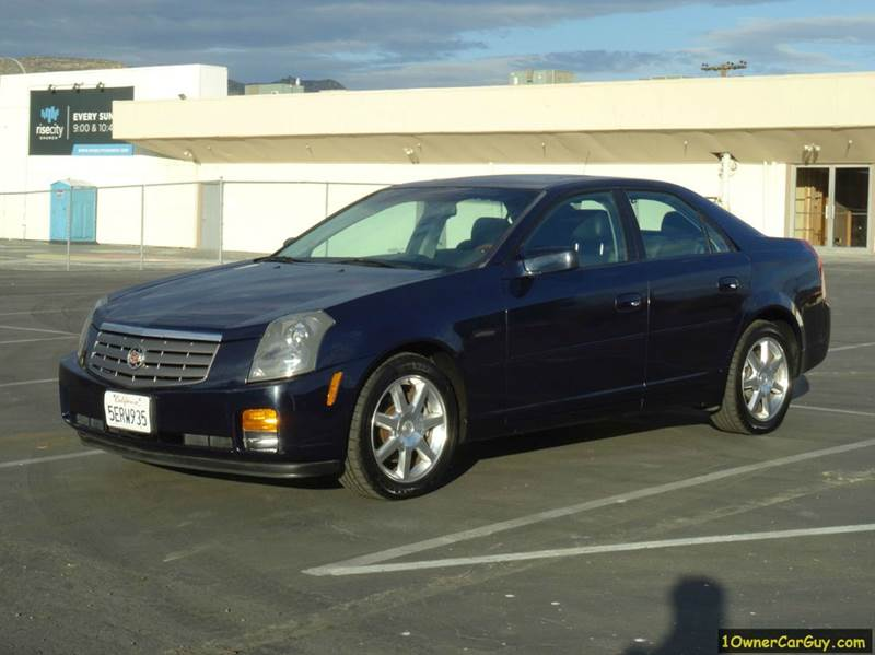 2004 Cadillac Cts Base 4dr Sedan In El Cajon CA - 1 Owner Car Guy
