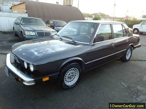 1983 BMW 5 Series for sale at 1 Owner Car Guy in Stevensville MT