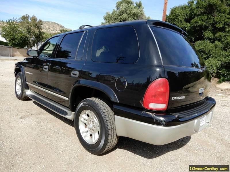 2001 Dodge Durango Slt 2wd 4dr Suv In El Cajon Ca
