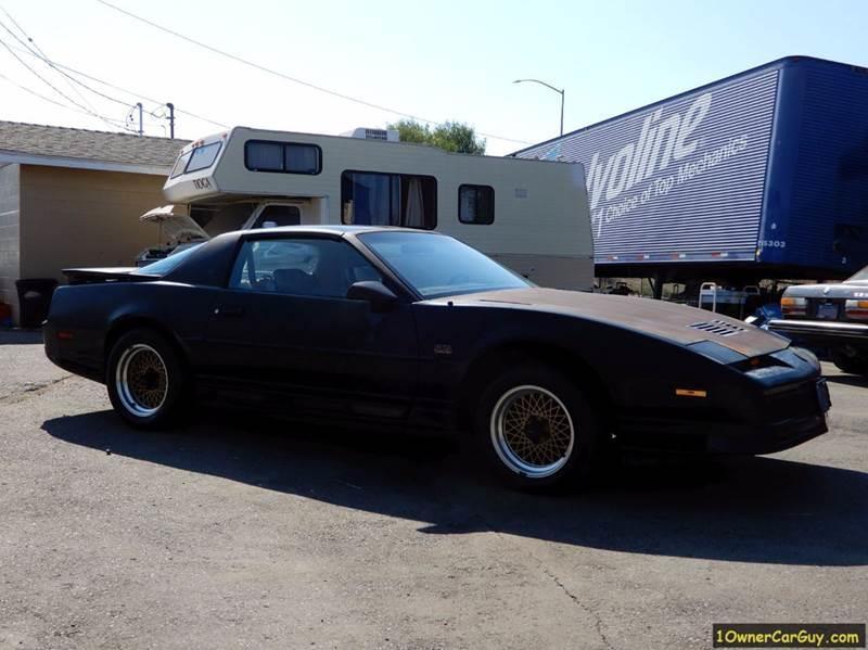 1989 Pontiac Firebird Trans Am GTA 2dr Hatchback - Stevensville MT