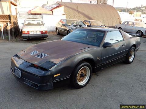 1989 Pontiac Firebird for sale at 1 Owner Car Guy in Stevensville MT